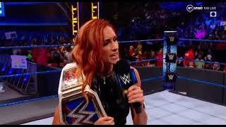 Becky Lynch Heel Turn Segment