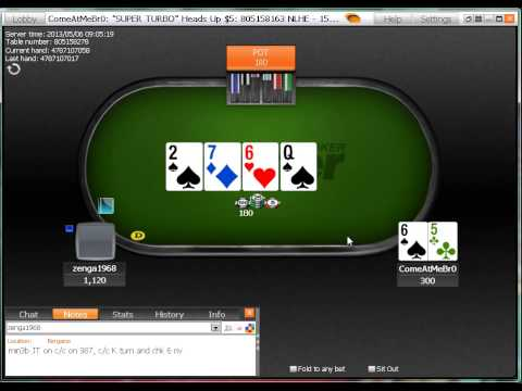 iPoker Introduces New Heads Up Super Turbo Sit and Go Poker Games