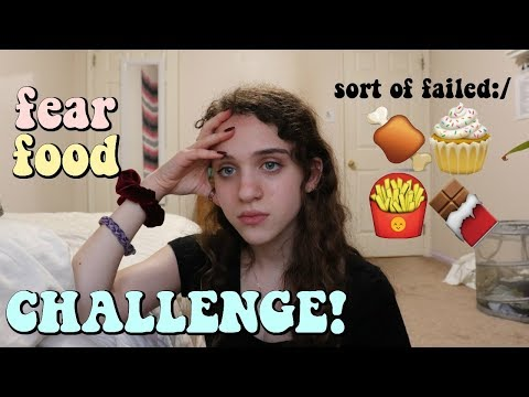 EATING MY ANOREXIA FEAR FOODS | Eating Disorder Recovery | Zoe Rebekah