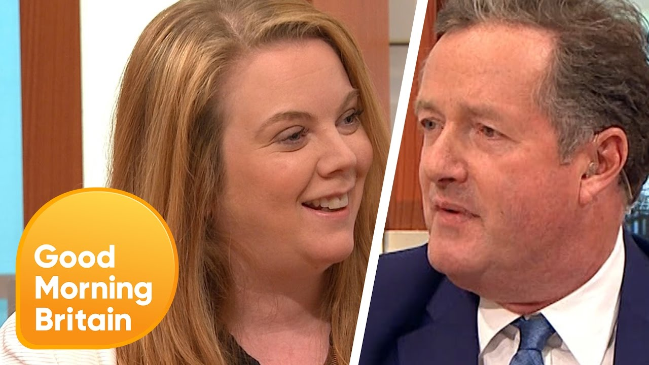 piers morgan argues journalist over beauty pageants good  piers morgan argues journalist over beauty pageants good morning britain