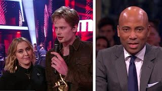 """connectYoutube - Jim wint The voice of Holland: """"Bizar!"""" - RTL LATE NIGHT"""