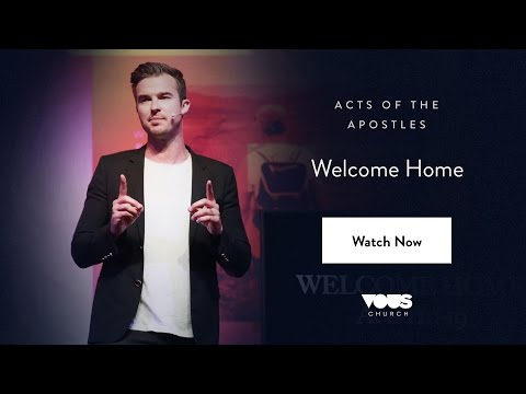 Rich Wilkerson, Jr. — Acts of the Apostles: Welcome Home
