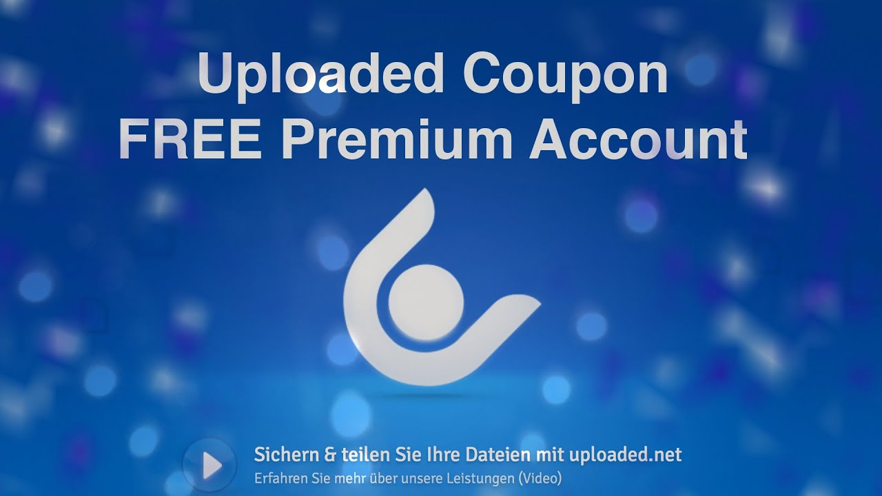 Uploaded.to Premium Account Coupon 2019