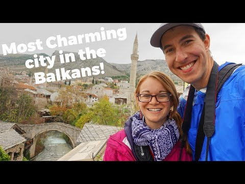 Charming Mostar, how to handle beggars & historic Sarajevo - Travel Vlog Day #138