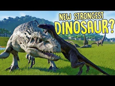 Jurassic World Evolution - Indominus Rex VS Indoraptor - 6 New Dinosaurs In Jurassic World Evolution