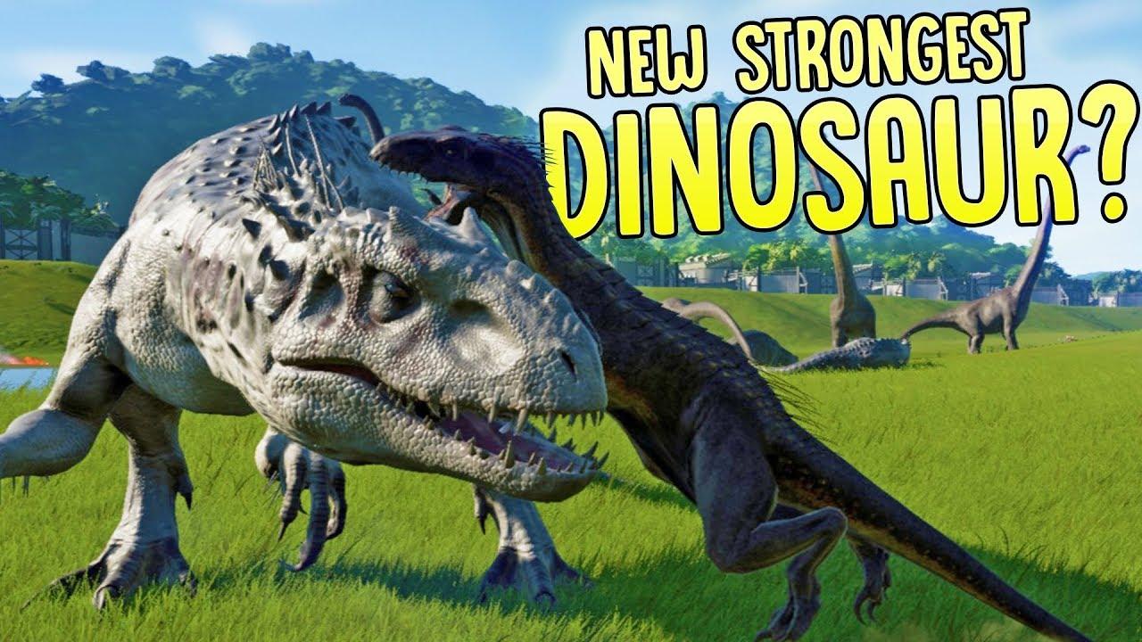 Jurassic World Evolution Indominus Rex Vs Indoraptor 6 New Dinosaurs In Jurassic World Evolution
