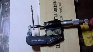 Микрометр 0.001 мм из Китая.(, 2016-10-25T17:02:04.000Z)