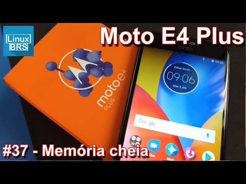 Motorola Moto E4 Plus - Memória Cheia
