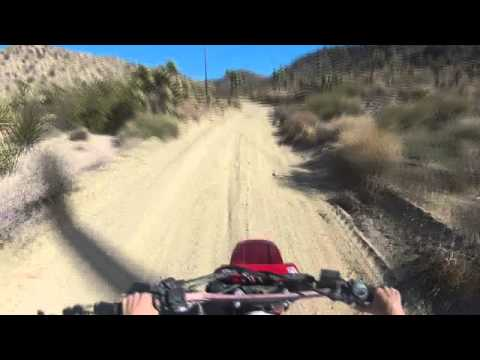Mojave Desert Little Morongo Canyon Ride P2