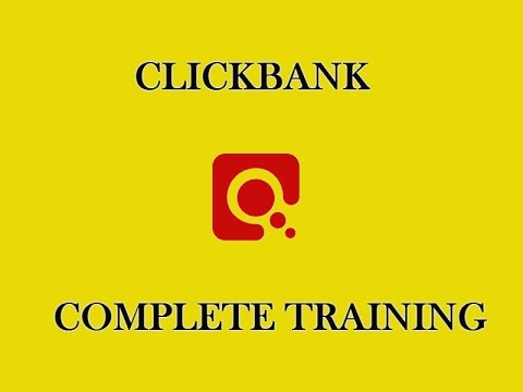 CLICKBANK COMPLETE TRAINING