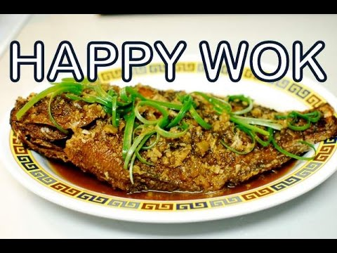 在薑汁炒全魚Fried Whole Fish In Ginger Sauce ( Authentic Cantonese Cooking )