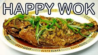 Fried Whole Fish In Ginger Sauce ( Authentic Cantonese Cooking )