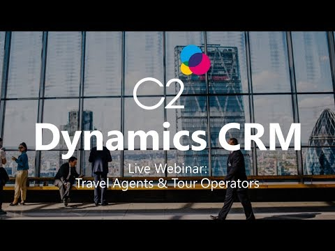 Live Webinar: Microsoft Dynamics CRM 2016 tailored towards the Travel Industry