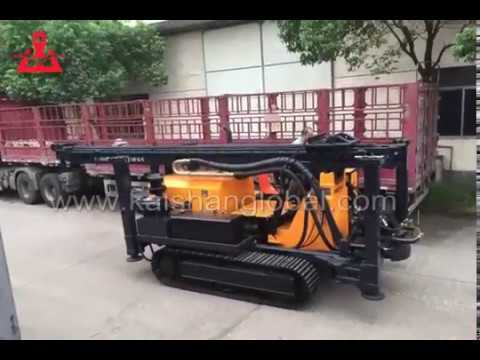 Our Latest Bore well Drilling rigs KW600 water well drilling machine for sale kaishanglobal.com