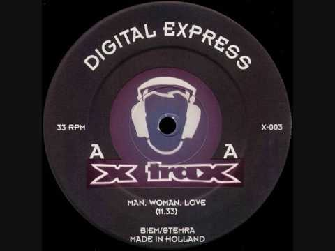 Digital Express - Man, Woman, Love