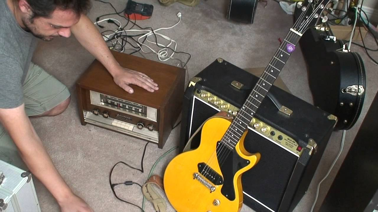 Tube Radio as a Guitar Amp: How does it sound?