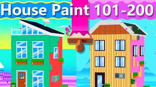 House Paint Walkthrough Level 101 - 200