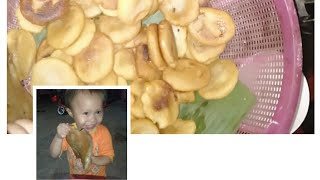 Khe kòi#  làm bánh rán khổng lồ và cái kết!... bánh to Rán đầy chảu