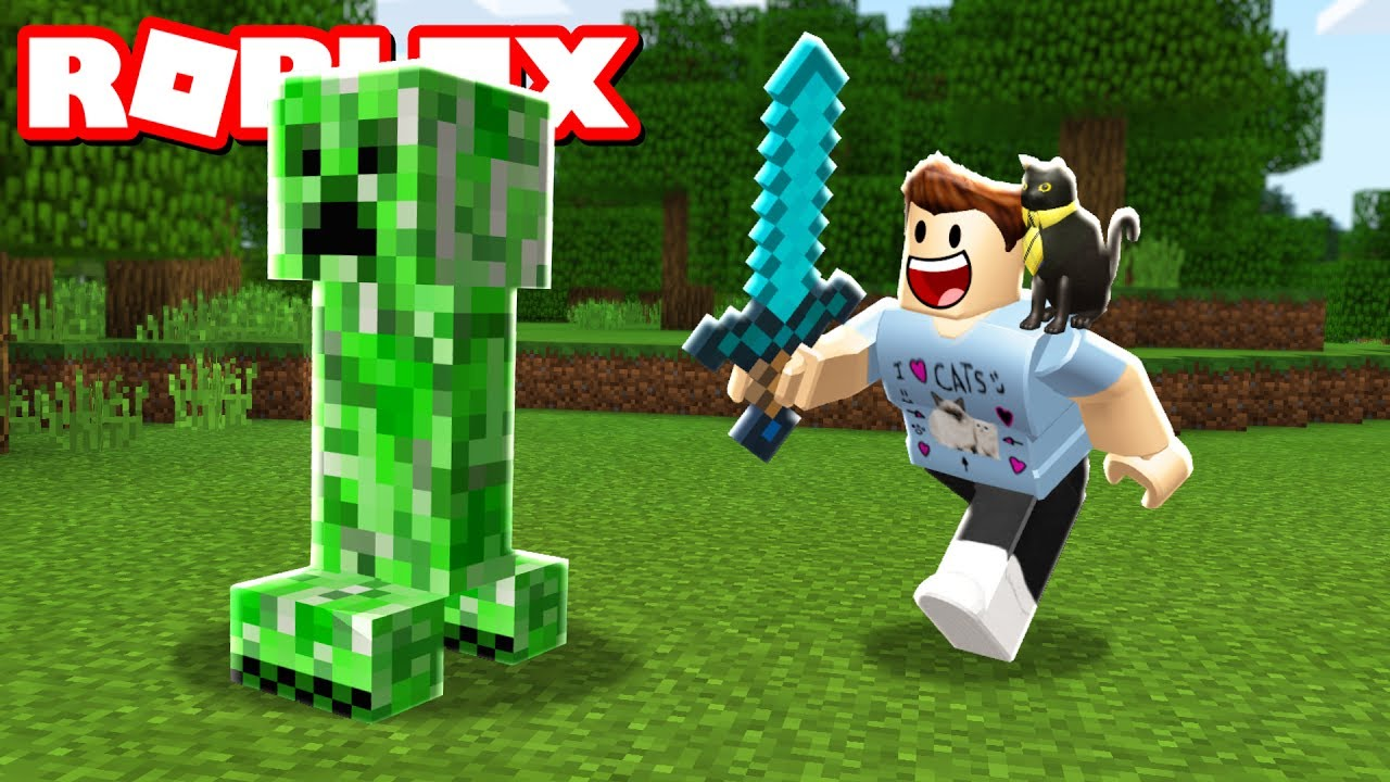 Minecraft In Roblox Youtube
