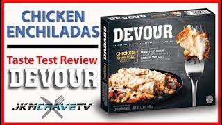 DEVOUR Chicken Enchiladas | Taste Test Review | JKMCraveTV