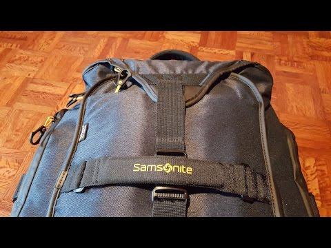 Packing Paradiver Samsonite © Viaje Comigo - YouTube f3afb29426d2f