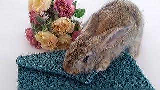 Что я вяжу из атласных лент? ♥ Обзор сумки крючком ♥ Вязание из атласных лент ♥ Crochetka Design