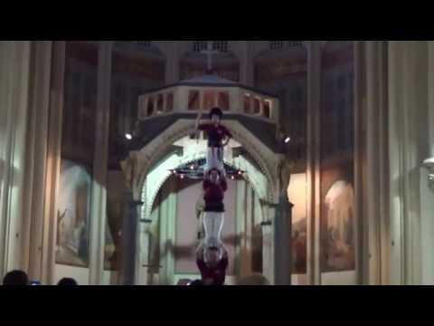 20140616 - pd4xs - Actuació a l'Església de Sant Esteve - CAPGIRATS - CASTELLERS DE CASTELLAR
