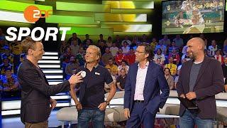 ZDF-Experten und Gernot Rohr ziehen ihre WM-Bilanz | das aktuelle sportstudio - ZDF