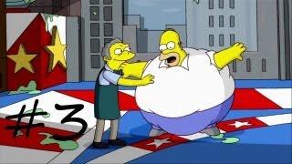Les Simpson Le Jeu - épisode 3 : Le tour du monde en 80 bouchées | [Xbox 360] Let's play HD Français
