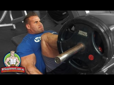 Jay Cutler's Leg Press - Exercise #3