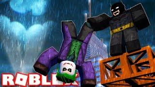 BECOMING BATMAN IN ROBLOX
