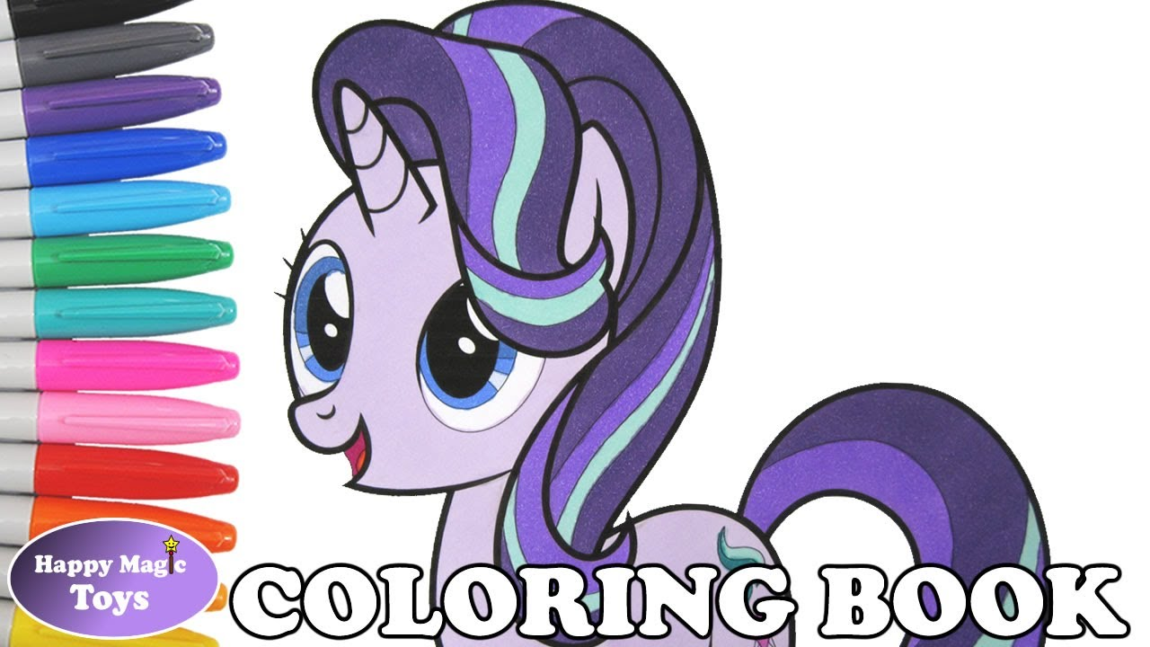 My Little Pony Starlight Glimmer Coloring Pages : Mlp starlight glimmer coloring book pages my little pony