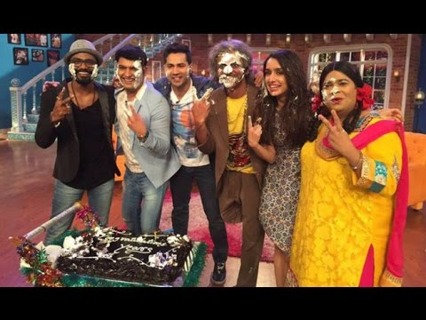 Comedy Nights With Kapil - ABCD 2 - Varun Dhawan, Shraddha Kapoor & Remo D'souza