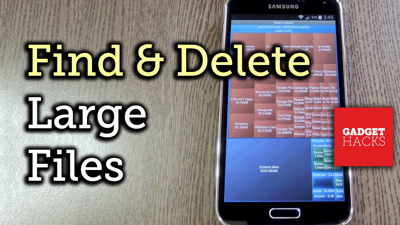 Easily Find & Delete Large Files on Android [How-To]