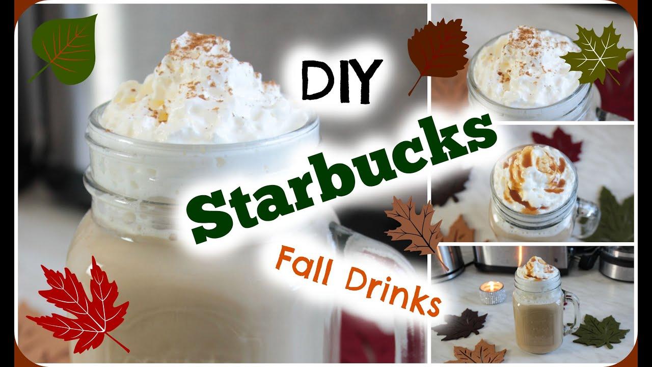 DIY Starbucks Fall Drinks Rezepte - YouTube