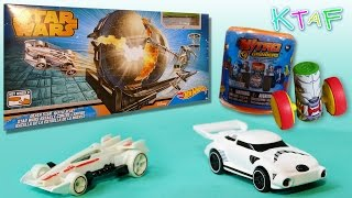 Hot Wheels Star Wars track, Star Wars Hot Wheels cars and a Nitro Grinder - Kid Toys Are Fun
