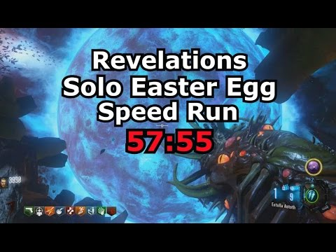 Revelations Full Solo Easter Egg Speed Run 57:55