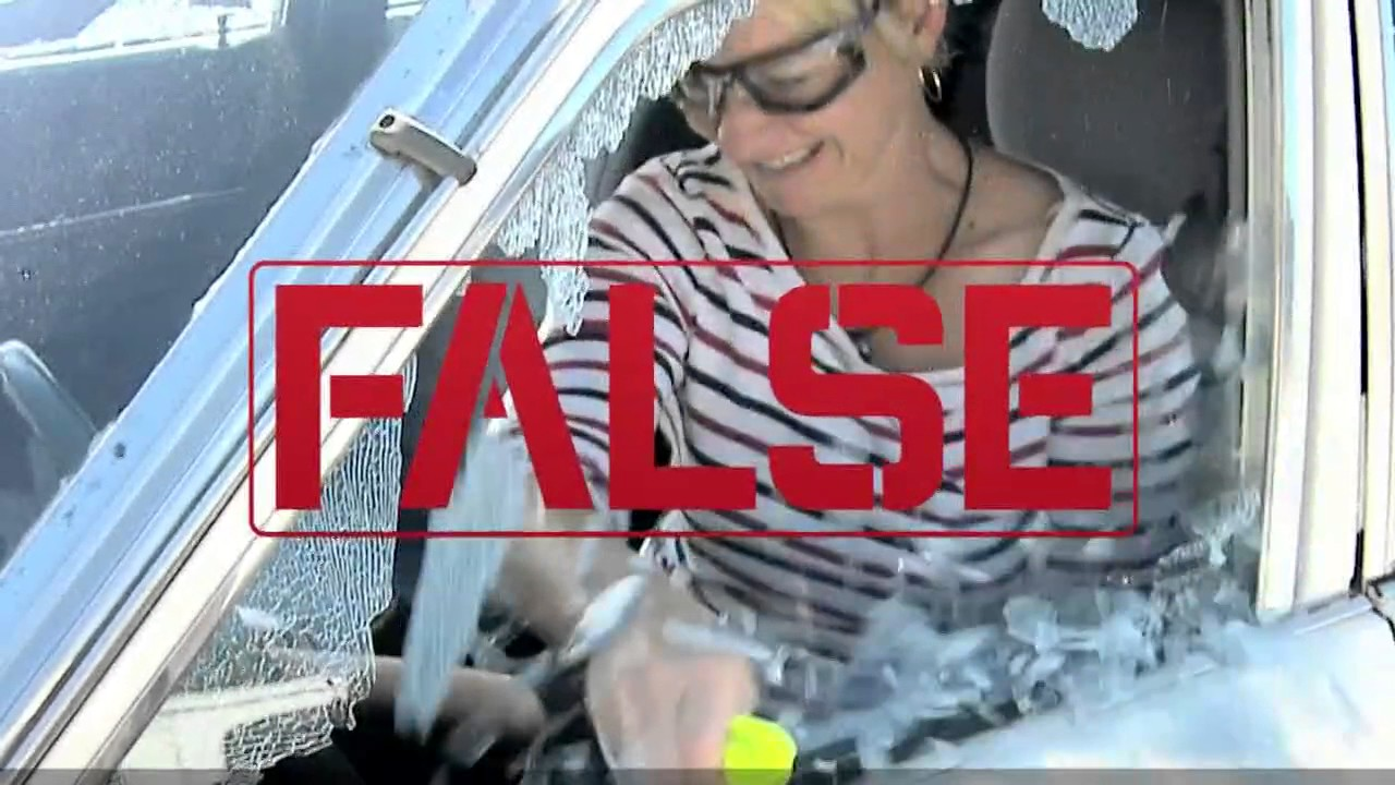 Download VERIFY: Do emergency tools used to break windows work on all vehicles?