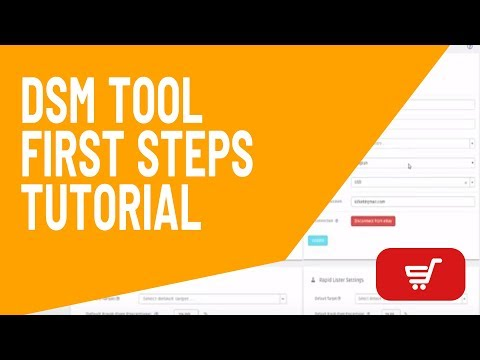 DSM Tool - First Steps Tutorial (Beginners) - YouTube