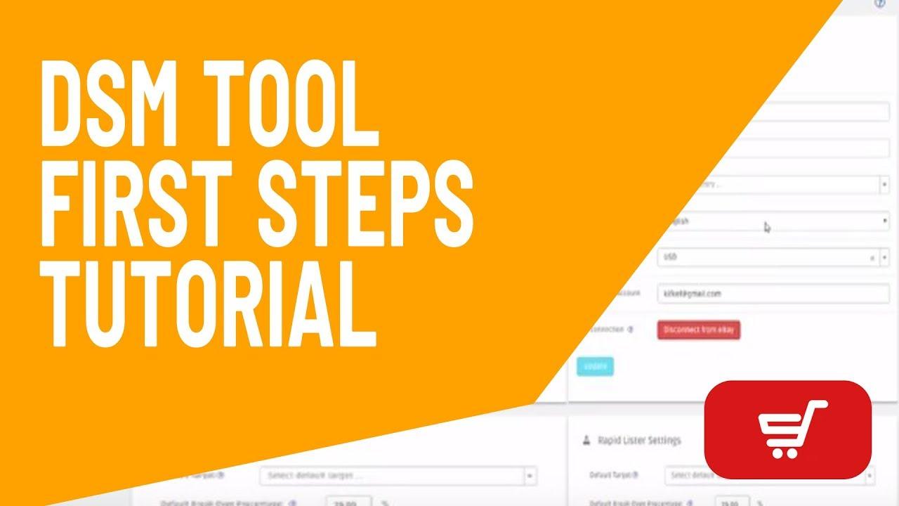 DSM Tool - First Steps Tutorial (Beginners)