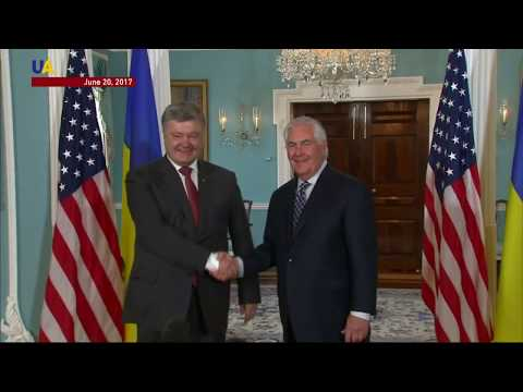 US Secretary of State Tillerson To Meet with Poroshenko July 9th