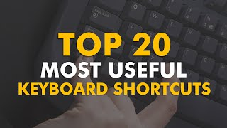 20 amazing keyboard shortcuts you need to know!