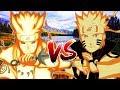 Naruto Song Đấu - Minato Đối Đầu Naruto Trong Trạng Thái Charka Cửu Vĩ