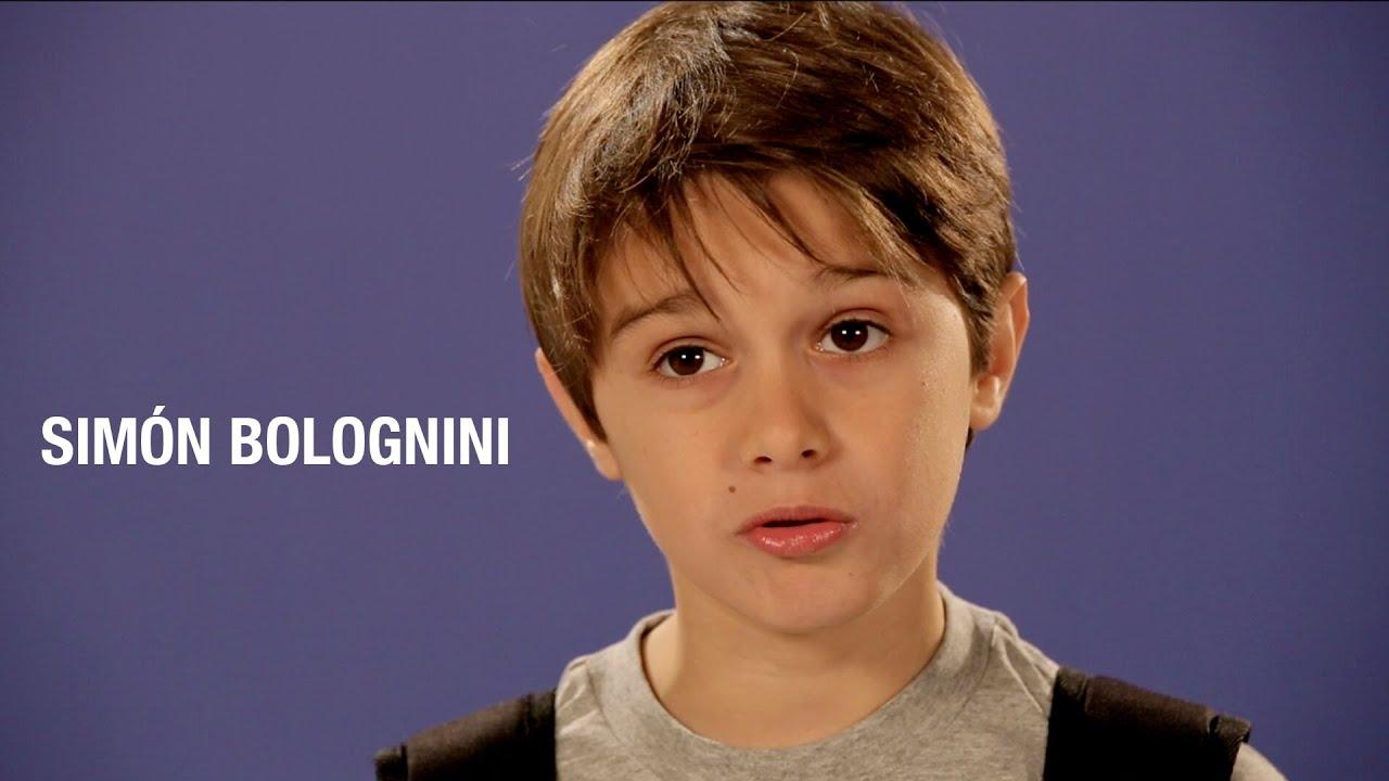 Videobook para actores Simón Bolognini Actor Infantil