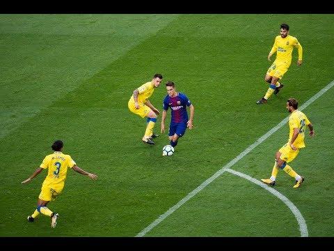 Denis Suarez vs Las Palmas   Barcelona vs Las Palmas [3-0] (01/10/2017) HD