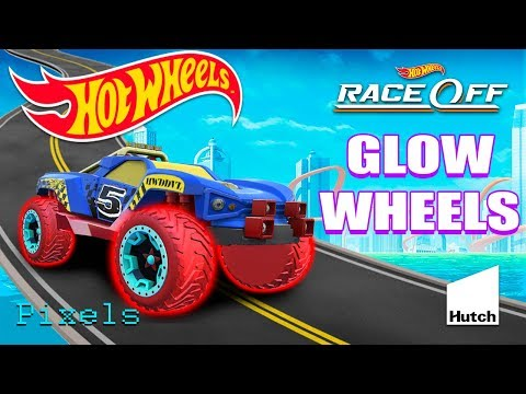 Hot Wheels Race Off Daily Challenge New Glow Wheels Car