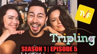tvf tripling episode 5   reaction by jaby achara joli