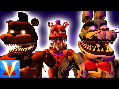 FNAF 4 PLAYABLE ANIMATRONICS! | Gmod Five Nights At Freddy's 4 Pill Pack (Garry's Mod)