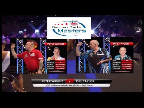 2017 German Darts Masters Final Peter Wright (Sco) vs Phil Taylor (Eng)