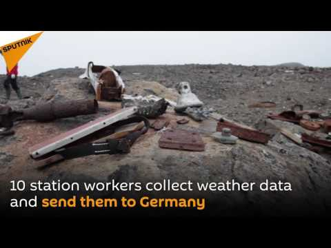 Russian Scientists Looking for Objects From the Abandoned Nazi Weather Station